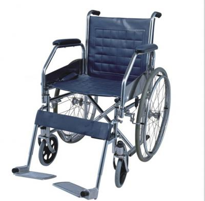 Single Axle European Style Chrome-Plated Wheelchairs
