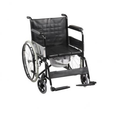 Power-coated Commode Wheelchairs