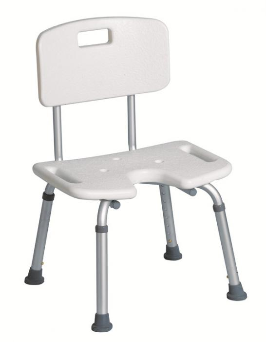 U-shape Shower Chair with Back