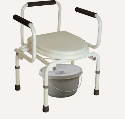 Drop-down Arm Commode Chairs