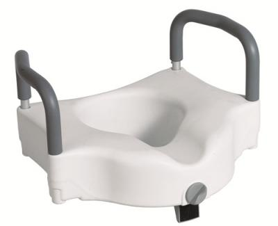 Raised Toilet Seats with Tool Free Removable Arms