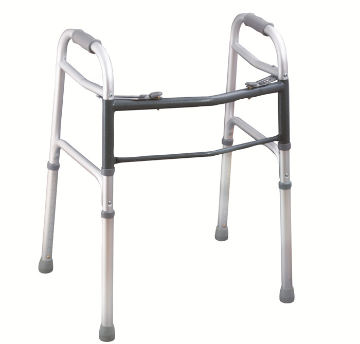 Folding Walker with 2-button