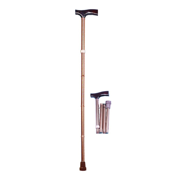 Folding Walking Stick,T-shape Handle