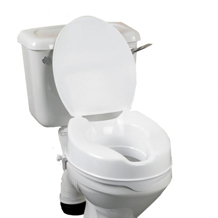 Raised Toilet Seats with Lid