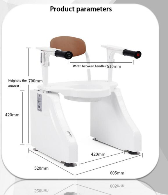 smart toilet lift chairs